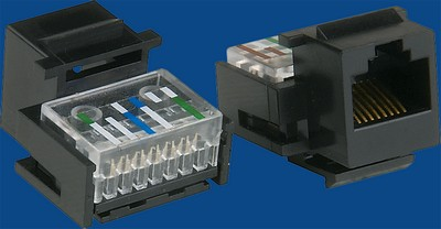 TM-8014 RJ45 Cat.5E gegevens keystone jack TM-8014 RJ45 Cat.5E Connectors gegevens keystone jack