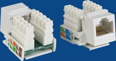 TM-8016 Cat.5E Socket gegevens keystone jack TM-8016 Cat.5E RJ45 Socket gegevens keystone jack