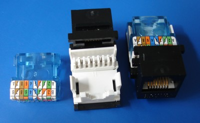 TM-8019 Cat.5E RJ45 Data Connector keystone jack TM-8019 Cat.5E RJ45 Data Connector keystone jack