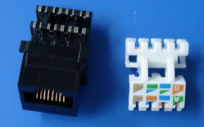 TM-8020 Cat.5E Datakabel keystone jack TM-8020 Cat.5E Cable Data Connector keystone jack