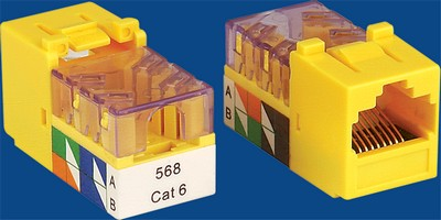 TM-8402 Cat.5E Datakabel keystone jack TM-8402 Cat.5E Cable Network Gegevens keystone jack