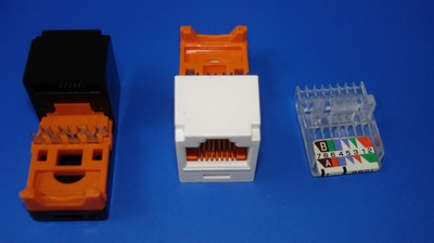 TM-8601 Cat.5E RJ45 Data Connector keystone jack TM-8601 Cat.5E RJ45 Data Connector keystone jack