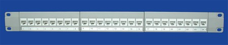 TP-04 24 poort patch panels TP-04 White Netwerk 24 poort patch panels
