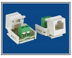 RJ11/12 (CAT3) Voice Keystone Jacks   china RJ11/12 (CAT3) Voice Keystone Jacks Phone Jack leverancier