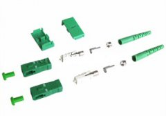 SC / APC vezel connector singlemode met 3.0mm boot Duplex SC / APC vezel connector singlemode met 3.0mm boot Duplex
