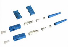 SC fiber connector singlemode met 3.0mm boot Duplex SC fiber connector singlemode met 3.0mm boot Duplex
